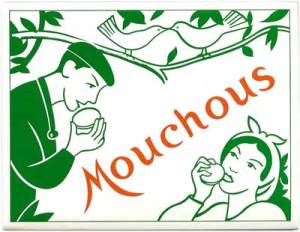 Mouchous (macarons du pays basque)