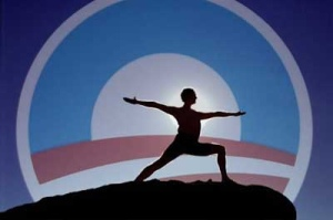 Obama yoga