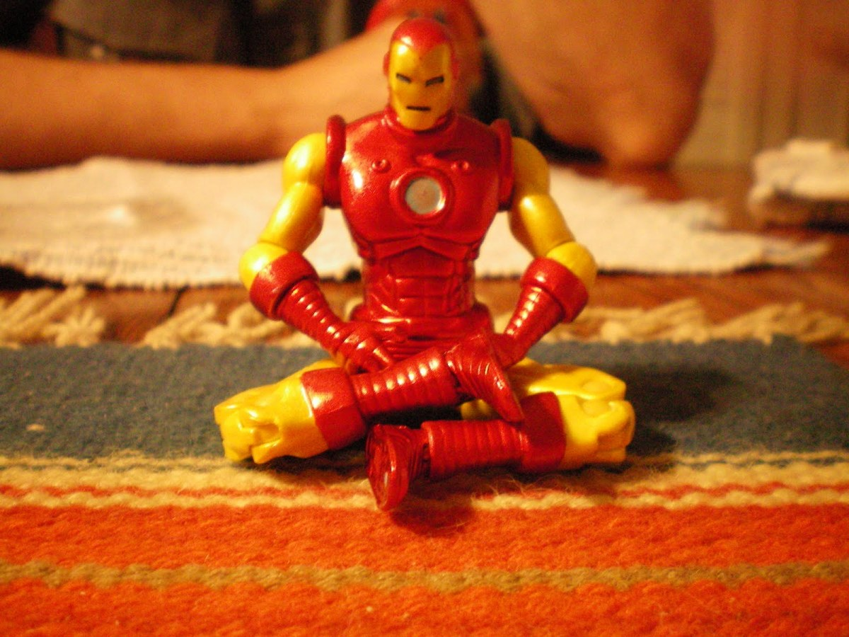 "Yoga'ttitude n°4: ""La volonté d'Iron Man tu auras..."" avec Robert Downey Junior"